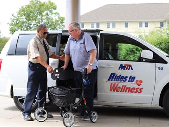 Recently, the Rides to Wellness program was expanded to provide same-day service to take veterans and their spouses.