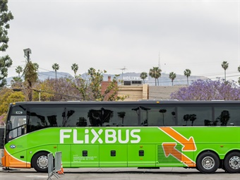 With its U.S. launch, FlixBus hopes to encourage more people to park their cars and chose a more sustainable form of transportation.