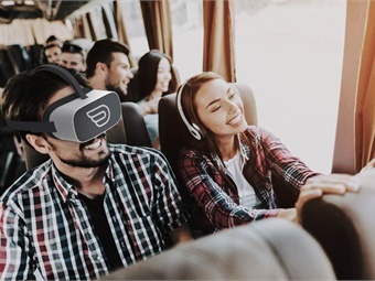 Once on board, passengers will receive a Pico Goblin 2 virtual reality headset loaded with Inflight VR content.