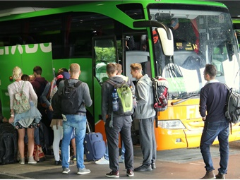 FlixBus uses the well-established model seen in the UK's National Express of acting as an overall brand for a series of local operators.FlixBus