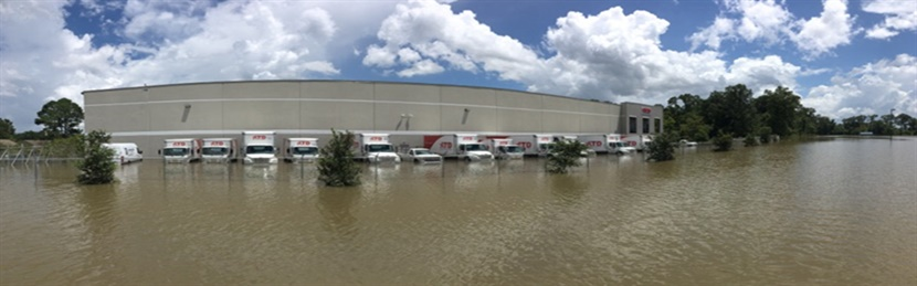 ATD reports its employees are all safe, but 14 were displaced by the flood waters.