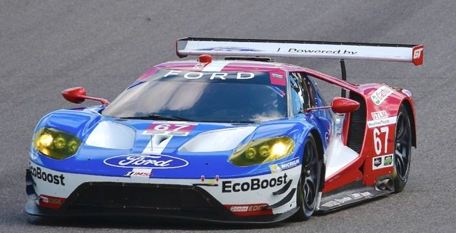 The winning Ford GT moves closer to the lead of the WeatherTech GTLM Championship lead with victory at the Canadian Tire Motorsport Park.