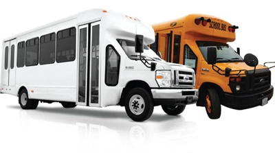 Phoenix Motorcars will supply electric drivetrains for school buses and shuttles built by Forest Riveron the Ford E450 chassis with the Starcraft Bus body. Creative Bus Sales will be the exclusive factory representative.