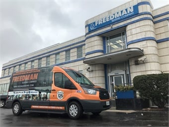 The #ShowOnTheGO tour, featuring Freedman seats and other products made in America, kicked off in early February making its way to bus dealers, operators, manufacturers, and trade shows spanning 40-plus states.