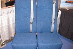 Freedman Seating Co.'s Family 3PT School Bus Activity Seat is FMVSS 222 and FMVSS 210 compliant.