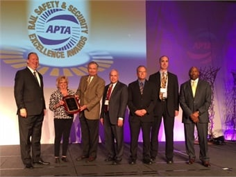 The folks of Denver RTD with APTA President/CEO Michael Melaniphy and Chair Phil Washington