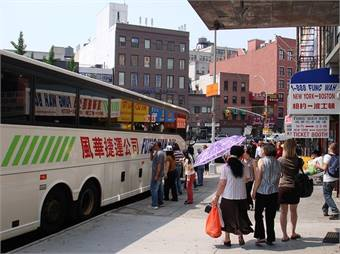 Fung Wah bus photo by Jim Shank via Flickr