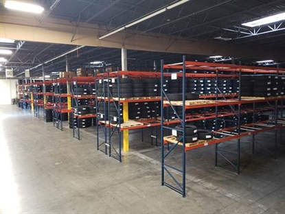 The new space has allowed the company to consolidate its sales, operations and three warehouses into a single space — with more tire capacity.