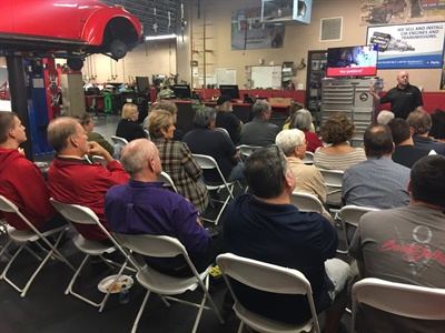 """GB Auto Service's Jeffry Gardner says car care clinics educate customers about how their vehicles operate without the pressure of the normal selling environment. """"An educated customer is truly a better customer."""""""