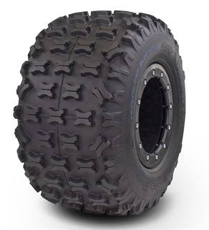 GBC Motorsports new 20x11-9 Ground Buster III rear ATV tire is available in 2-ply rated and 6-ply rated versions.