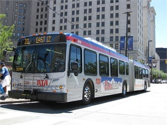 Ohio EPA dollars will go toward the cost of 16 of RTA's 33 new CNG buses currently on order. RTA plans to order another 27 CNG buses in 2019. Lavonte Perez