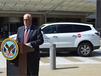 """RTA wants to offer residents as many transportation choices as possible, to improve their mobility,"" said RTA CEO/GM Joe Calabrese of the new vanpool program."