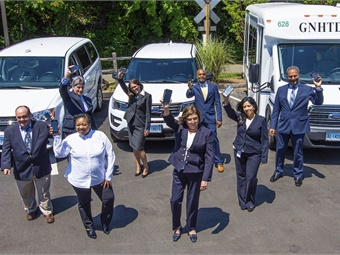 GNHTD is a growing transit agency that receives approximately 100 new client applications per month to utilize its elderly and disabled transportation service in the South Central Region of Connecticut.
