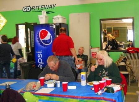 During School Bus Driver Recognition Week, Go Riteway locations provided daily perks for their drivers, including meals and prize drawings.