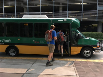 Green Way, which specializes mostly in professional student transportation, currently serves over 125 properties at 52 universities across the U.S. ATTI