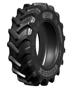 The Green XLR 85 tire features unique shaped lugs and an angle that promises high traction capacity and superior self-cleaning.
