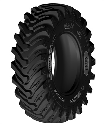 The new Gripex LT122 from GRI is designed for heavy-duty loader applications. GRI says the tire is now available.