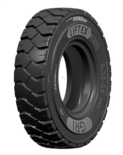 The LiftEx features a massive footprint and unique lug pattern for optimal grip.