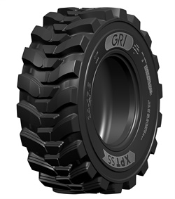 The XPTSS is a premium skid steer tire designed to provide machine stability.