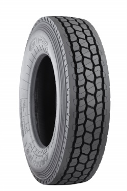 The GT Radial GDL651FS is a closed shoulder drive tire designed for North America.