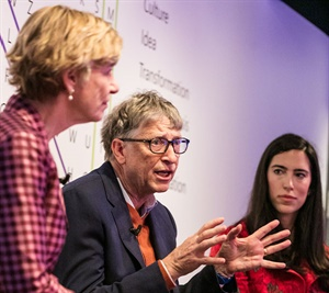 Bill Gates knew what was required to take Microsoft to the next level. Photo provided by the Gates Foundation.