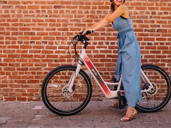 Shared e-Bikes and e-Scooters are also extremely efficient, low-cost, and accessible. Photo: GenZe