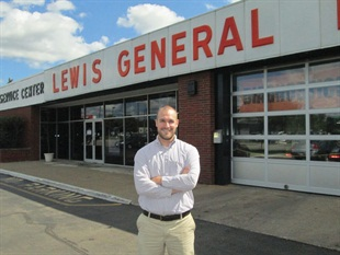 """""""My great-grandfather came from nothing, and now three succeeding generations owe our livelihood to him,"""" says President Craig Lewis. Tim McInerney, who is married to Craig's sister, is a commercial salesman in the business"""
