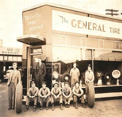 Joseph McCarthy Sr., far left, moved his business to this location in Wilkes-Barre in 1936. He moved it again to the east end of the city in 1962.