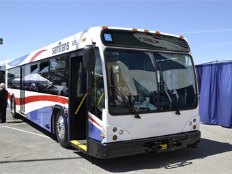 Gillig recently showcased one of their buses at the 2017 APTA Bus & Paratransit Conference in Reno, Nev.