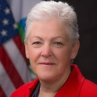 Gina McCarthy previously served as the assistant administrator for the EPA's Office of Air and Radiation.