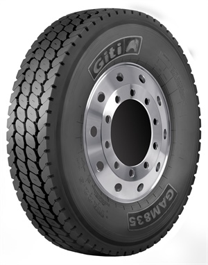 The GAM835 comes in 11R22.5, 315/80R22.5 and 11R24.5 sizes.