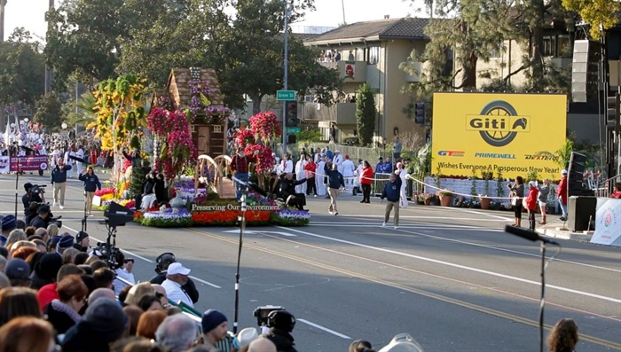 Giti Tire (USA) is an official sponsor of the 130th Pasadena Tournament of Roses.