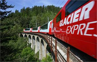 Photo courtesy Glacier Express.