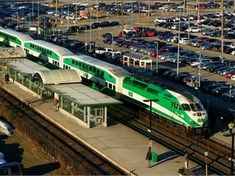 Ontario is taking the next steps in exploring the potential of hydrogen rail as an alternative to conventional electric trains, as Ontario transforms the GO network into a rapid-transit system. Photo: GO Transit