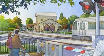 Rendering courtesy L.A. Metro