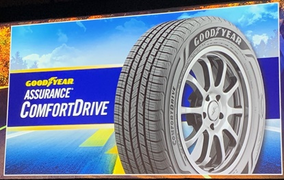 The new Assurance ComfortDrive tire combines wet traction with a quiet, comfortable ride to serve the commuter touring segment of the market.