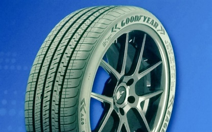 Goodyear is eyeing these fitments with its new Eagle Exhilarate UHP tire: Ford Mustang, Chevrolet Camaro, BMW 3-Series, Porsche Cayman, Dodge Challenger, Audi A6, Cadillac CTS, BMW 5-Series, Mazda 6, Porsche Cayenne, Mercedes E-Class and Lexus LC.