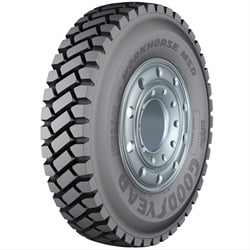 The deep tread on the Workhorse MSD is designed with difficult terrain in mind.