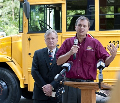 Derek Graham(shown right), former state director of pupil transportation in North Carolina, will provide consulting services to Edulog and its clients.