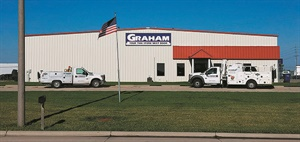 Graham Tire's newest commercial outlet is in Fremont, Neb. Most of the store's business is medium truck, with some agricultural product.