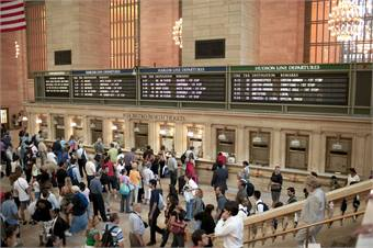 Grand Central Station photo credit: (C) NYC & Co./Alex Lopez