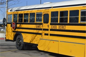 "Officials for Utah's Granite School District are calling upon students to create bus advertisements that highlight specific courses or programs available through the district, or they can also be ""help wanted"" ads for bus drivers."
