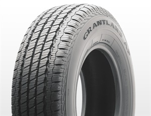 The new Milestar Grantland AP tire available with Q and T speed ratings, in 15- to 20-inch sizes with P-metric and LT applications.