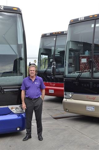 At Cardiff Limousine & Transportation in Palm Desert, Calif., owner Gary Cardiff has taken the luxury transportation model and have made it work for both private and public schools