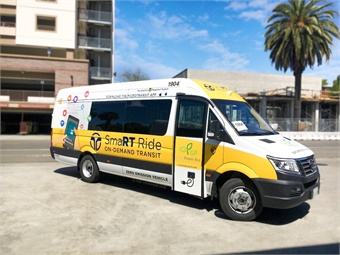 Earlier in 2018 SacRT launched SmaRT Ride, an on-demand service where customers use a smartphone app to request shuttle rides within a designated transit area. GreenPower Motor Co. Inc.