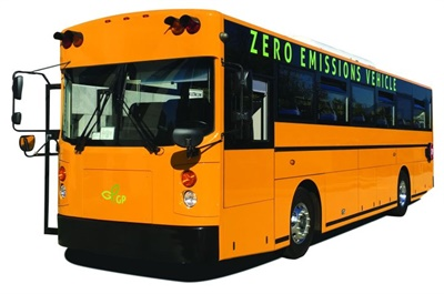 By uplisting to NASDAQ, GreenPower expects to gain new exposure and access to a larger base of retail and institutional investors in the U.S. and internationally. Shown here is GreenPower's Synapse 72 electric school bus.
