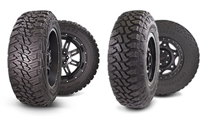 Kanati's Mud Hog M/T is being expanded to 32 total sizes and the Dirt Commander M/T has 10 new sizes on the way.