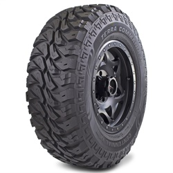 The Centennial Terra Commander M/T is available in sizes to fit 15-, 16-, 17-, and 18-inch wheels.