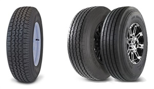 The Transmaster EV is a new economy line of radial special trailer tires. The Tow-Master is now available with heavy-duty aluminum wheels.