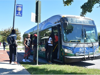Public transit can help this population access needed services, particularly wounded veterans with limited mobility, according to the report. Greensboro Transit Authority